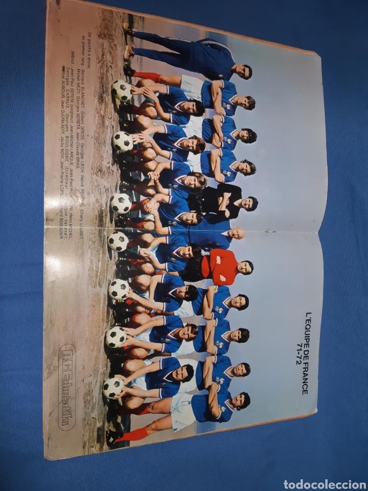 Coleccionismo Álbum: Antiguo álbum de fútbol de francia año 1971 - completo - Foto 10 - 213799913