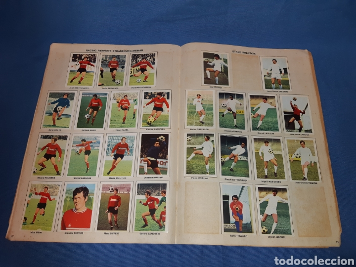 Coleccionismo Álbum: Antiguo álbum de fútbol de francia año 1971 - completo - Foto 14 - 213799913