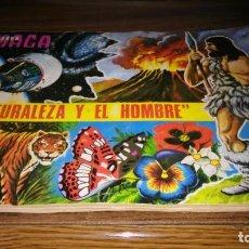 Coleccionismo Álbum: LA NATURALEZA Y EL HOMBRE (MAGA, 1967) - ALBUM COMPLETO (VER DESCRIPCION Y FOTOS). Lote 215002506