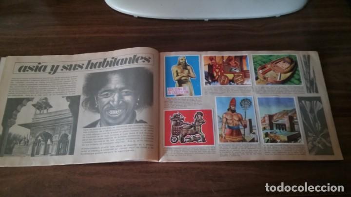 Coleccionismo Álbum: ASIA Y SUS HABITANTES (MAGA, 1972). ALBUM COMPLETO CON 252 CROMOS - Foto 4 - 215002782