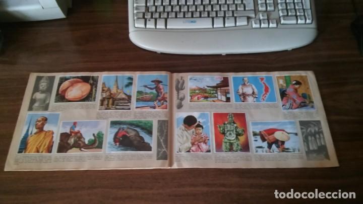 Coleccionismo Álbum: ASIA Y SUS HABITANTES (MAGA, 1972). ALBUM COMPLETO CON 252 CROMOS - Foto 22 - 215002782