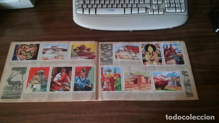 Coleccionismo Álbum: ASIA Y SUS HABITANTES (MAGA, 1972). ALBUM COMPLETO CON 252 CROMOS - Foto 23 - 215002782