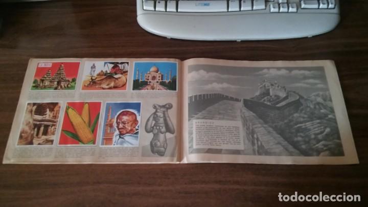 Coleccionismo Álbum: ASIA Y SUS HABITANTES (MAGA, 1972). ALBUM COMPLETO CON 252 CROMOS - Foto 25 - 215002782