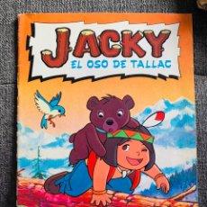 Coleccionismo Álbum: ALBUM JACKY EL OSO DE TALLAC DANONE 94 CROMOS COMPLETO AÑO 1978. Lote 215284792