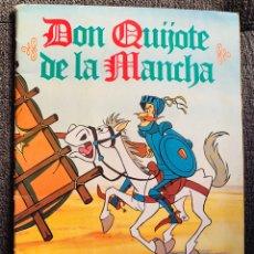 Coleccionismo Álbum: ALBUM DON QUIJOTE DE LA MANCHA DANONE 94 CROMOS . COMPLETO AÑO 1978 . MUY BUEN ESTADO. Lote 215286148