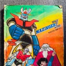 Coleccionismo Álbum: ALBUM MAZINGER Z EDIT FHER AÑO 1978 . COMPLETO . SEÑALES DE PASO DEL TIEMPO . SE VE EN FOTOS. Lote 215288148