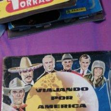 Coleccionismo Álbum: VIAJANDO POR AMÉRICA DEL NORTE COMPLETO. Lote 215690278