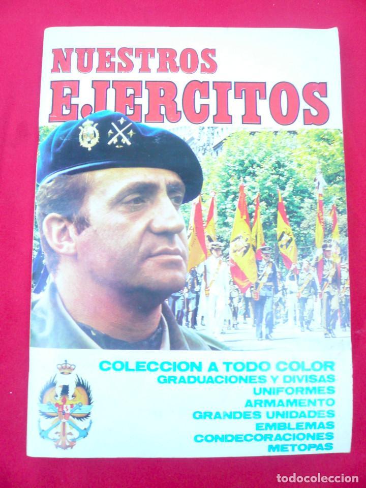 Coleccionismo Álbum: ÁLBUM NUESTROS EJÉRCITOS. COMPLETO. 323 CROMOS. EDITORIAL RUIZ ROMERO - Foto 2 - 215922907