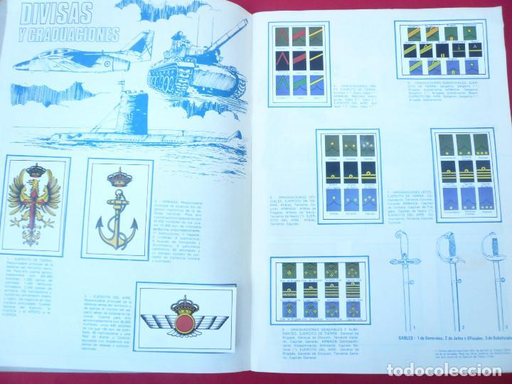 Coleccionismo Álbum: ÁLBUM NUESTROS EJÉRCITOS. COMPLETO. 323 CROMOS. EDITORIAL RUIZ ROMERO - Foto 5 - 215922907