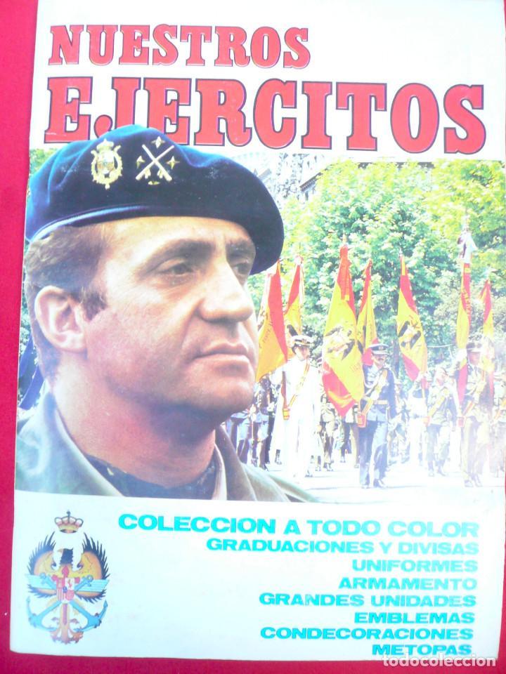 Coleccionismo Álbum: ÁLBUM NUESTROS EJÉRCITOS. COMPLETO. 323 CROMOS. EDITORIAL RUIZ ROMERO - Foto 26 - 215922907