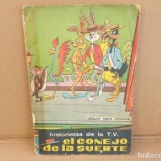 Coleccionismo Álbum: HISTORIETAS DE LA TV. EL CONEJO DE LA SUERTE. COMPLETO. AÑOS 60. Lote 216385067