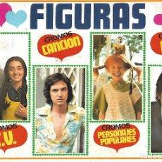 Colecionismo Caderneta: FIGURAS- COMPLETO. Lote 216592580