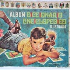 Coleccionismo Álbum: MUY RARO!! ÁLBUM DICCIONARIO ENCICLOPÉDICO - COLECC . FHER -COMPLETO. Lote 216608757