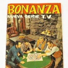 Coleccionismo Álbum: BONANZA ALBUM CE CROMOS COMPLETO CON 232 CROMOS DE FHER. Lote 216675027