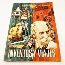 Coleccionismo Álbum: INVENTOS Y VIAJES. ÁLBUM CROMOS COMPLETO 153 CROMOS DE ED. FERMA. Lote 216676340