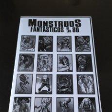 Coleccionismo Álbum: COLECCIÓN COMPLETA - MONSTRUOS FANTASTICOS DE LOS 80 - CROMOS SIN RECORTAR - NUEVOS - LEER BIEN. Lote 216918142
