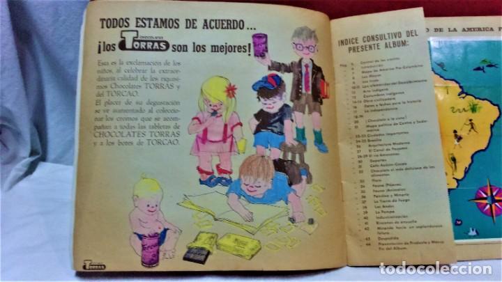 Coleccionismo Álbum: ÁLBUM DE CROMOS COMPLETO PANORÁMICA DE AMÉRICA LATINA,DE CHOCOLATES TORRAS.AÑO 1963 - Foto 3 - 217199553