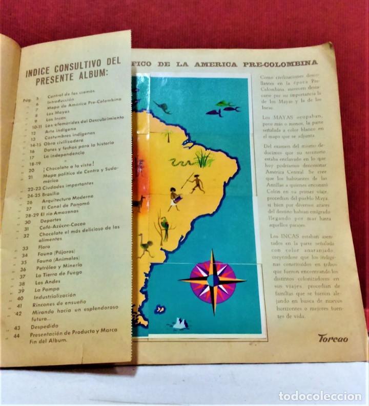 Coleccionismo Álbum: ÁLBUM DE CROMOS COMPLETO PANORÁMICA DE AMÉRICA LATINA,DE CHOCOLATES TORRAS.AÑO 1963 - Foto 4 - 217199553
