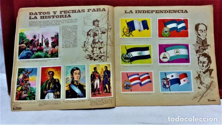 Coleccionismo Álbum: ÁLBUM DE CROMOS COMPLETO PANORÁMICA DE AMÉRICA LATINA,DE CHOCOLATES TORRAS.AÑO 1963 - Foto 6 - 217199553