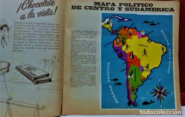Coleccionismo Álbum: ÁLBUM DE CROMOS COMPLETO PANORÁMICA DE AMÉRICA LATINA,DE CHOCOLATES TORRAS.AÑO 1963 - Foto 7 - 217199553