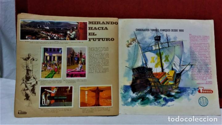 Coleccionismo Álbum: ÁLBUM DE CROMOS COMPLETO PANORÁMICA DE AMÉRICA LATINA,DE CHOCOLATES TORRAS.AÑO 1963 - Foto 10 - 217199553