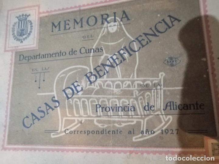 Coleccionismo Álbum: Libreto de memorias casas de la beneficencia 1927 - Foto 7 - 179402182