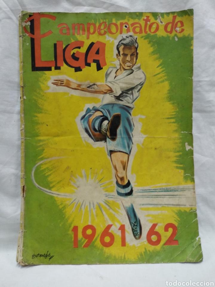 CAMPEONATO NACIONAL DE LIGA 1961-62 COMPLETO (Coleccionismo - Cromos y Álbumes - Álbumes Completos)