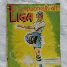 Coleccionismo Álbum: CAMPEONATO NACIONAL DE LIGA 1961-62 COMPLETO. Lote 217831382