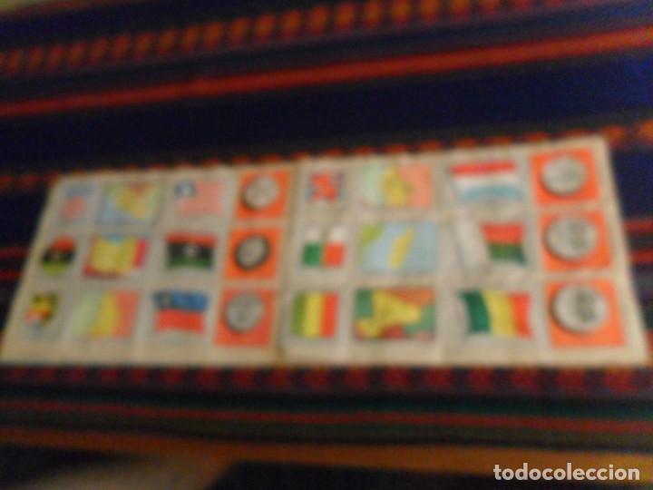 Coleccionismo Álbum: COLECCIÓN UNIVERSAL LIBRO DE BANDERAS ESCUDOS MONEDAS MAPAS COMPLETO CON CUPÓN. ÁLBUMES ESPAÑOLES. - Foto 6 - 218174963