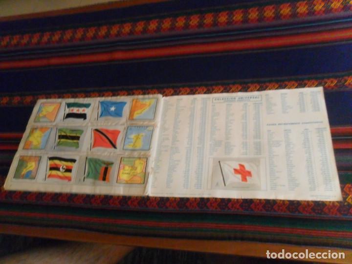 Coleccionismo Álbum: COLECCIÓN UNIVERSAL LIBRO DE BANDERAS ESCUDOS MONEDAS MAPAS COMPLETO CON CUPÓN. ÁLBUMES ESPAÑOLES. - Foto 7 - 218174963