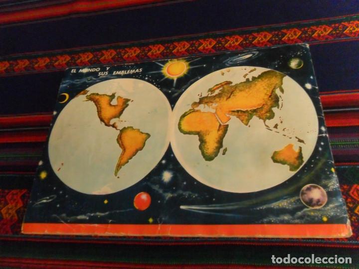 Coleccionismo Álbum: COLECCIÓN UNIVERSAL LIBRO DE BANDERAS ESCUDOS MONEDAS MAPAS COMPLETO CON CUPÓN. ÁLBUMES ESPAÑOLES. - Foto 8 - 218174963