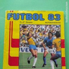 Coleccionismo Álbum: ALBUM CROMOS COMPLETO PANINI FUTBOL 83 LIGA PRIMERA SEGUNDA DIVISION 1982/1983 JUGADORES MUNDIAL 82. Lote 218200277