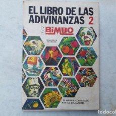 Coleccionismo Álbum: ALBUM LIBRO ADIVINANZAS 2. COMPLETO Y MUY BUEN ESTADO. Lote 218237647