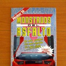 Coleccionismo Álbum: ÁLBUM MONSTRUOS DEL ASFALTO - MOTOR 16 - COMPLETO - EDICIONES CROMO ARTE, JESMA 1989. Lote 218409513