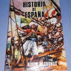 Coleccionismo Álbum: ALBUM DE CROMOS HISTORIA DE ESPAÑA EDICIONES PETRONIO COMPLETO EN MUY BUEN ESTADO. Lote 218410305
