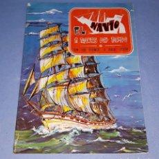 Coleccionismo Álbum: ALBUM DE CROMOS EL NAVIO A TRAVES DEL TIEMPO EDICIONES RAKER COMPLETO EN MUY BUEN ESTADO. Lote 218410981