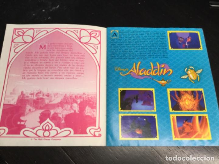 Coleccionismo Álbum: ÁLBUM ALADDIN COMPLETO - disney. ALADIN - Foto 2 - 218519641