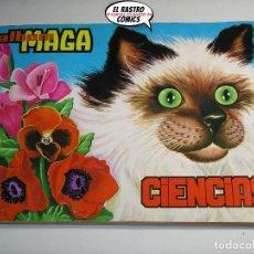 Collezionismo Álbum: ÁLBUM CIENCIAS, ED. MAGA, COMPLETO, AÑO 1971, CON REGALO, (A). Lote 218539976