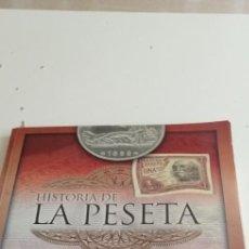 Colecionismo Caderneta: C-4 ALBUM COMPLETO DE BILLETES HISTORIA DE LA PESETA GRUPOJOLY VER FOTOS. Lote 218688031