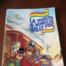 Coleccionismo Álbum: LA VUELTA AL MUNDO DE WILLY FOG DANONE. Lote 218694145