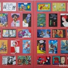 Coleccionismo Álbum: FUTURAMA, 15 ANIV. CARPETA 34 CROMOS. COMPLETA. SENTO, PACO ROCA, CALPURNIO, MIQUE BELTRAN, ANA MIRA. Lote 218891176