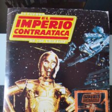 Coleccionismo Álbum: ALBUM CROMOS STAR WARS LA GUERRA DE LAS GALAXIAS THE EMPIRE STRIKES BACK IMPERIO CONTRAATACA FHER. Lote 186368140