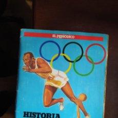 Collectionnisme Album: HISTORIA DE LOS JUEGOS OLIMPICOS COMPLETO. Lote 218992426