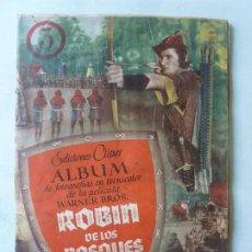 Coleccionismo Álbum: ROBIN DE LOS BOSQUES ALBUM DE CROMOS COMPLETO MUY BUEN ESTADO. Lote 219202745