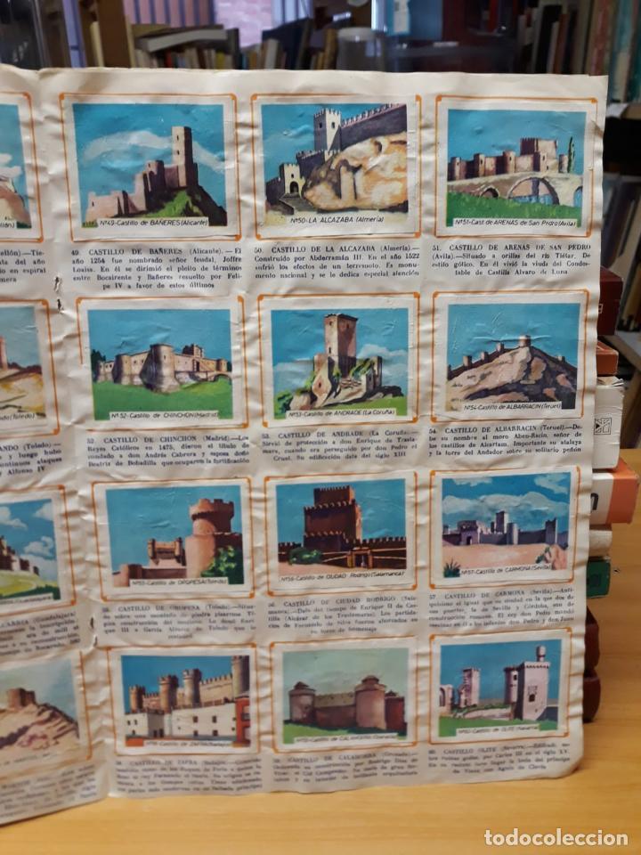 Coleccionismo Álbum: Album de cromos completo , historia de los castillos de España - Foto 2 - 219296917