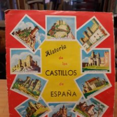 Coleccionismo Álbum: ALBUM DE CROMOS COMPLETO , HISTORIA DE LOS CASTILLOS DE ESPAÑA. Lote 219296917