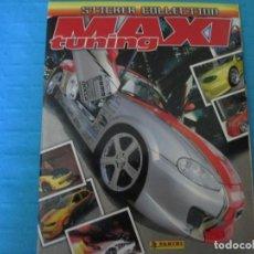 Collectionnisme Album: MAXI TUNING COMPLETO. Lote 219601227