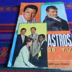 Coleccionismo Álbum: ASTROS DE TV T.V. COMPLETO 185 CROMOS. FHER 1967. MUY DIFÍCIL.. Lote 219640640