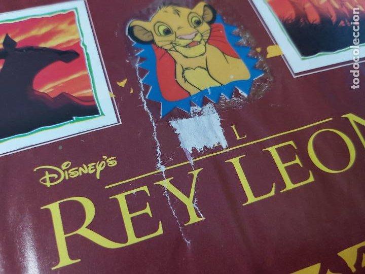 Coleccionismo Álbum: ALBUM DE CROMOS EL REY LEON EDICIONES PANINI 1995 COMPLETO - Foto 3 - 220234703