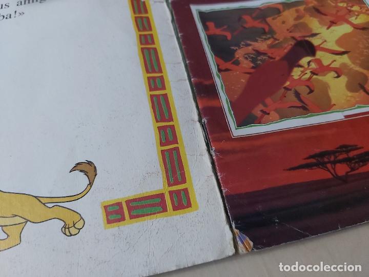 Coleccionismo Álbum: ALBUM DE CROMOS EL REY LEON EDICIONES PANINI 1995 COMPLETO - Foto 4 - 220234703